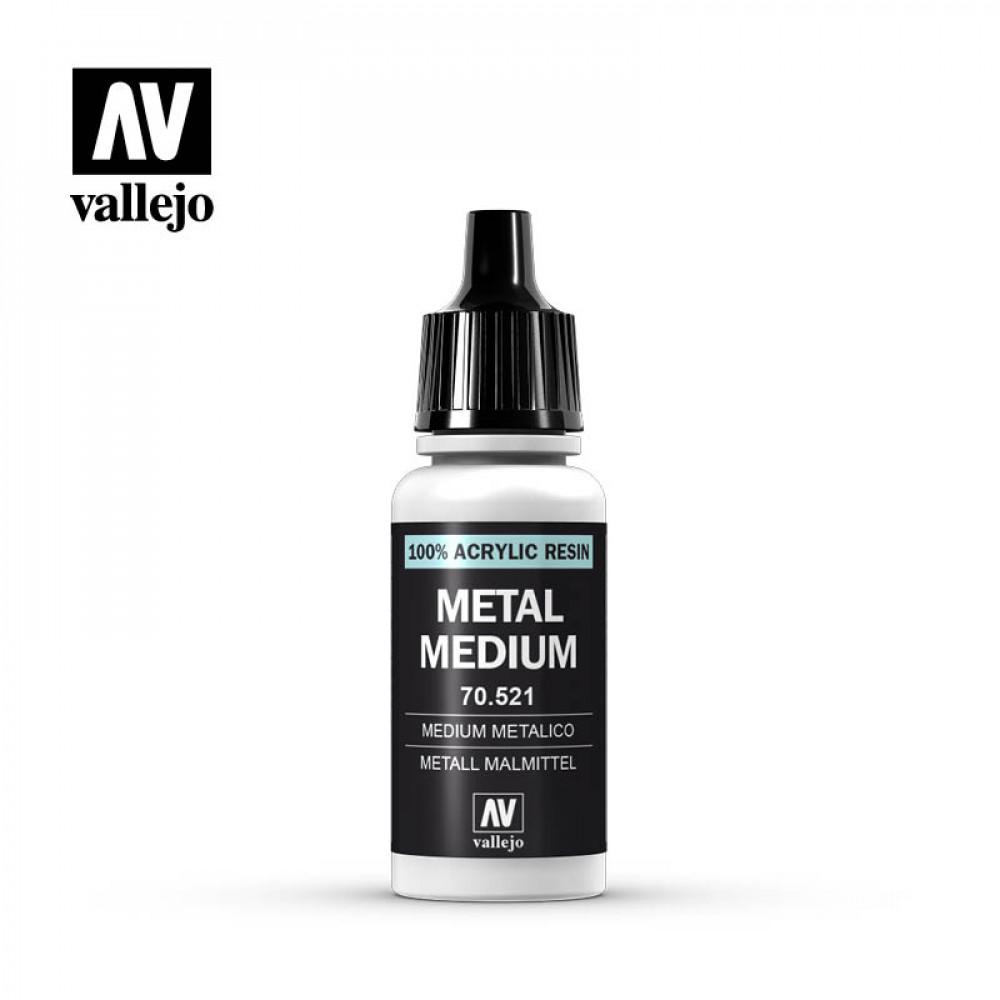 Metal Medium 17 ml   Vallejo 70521