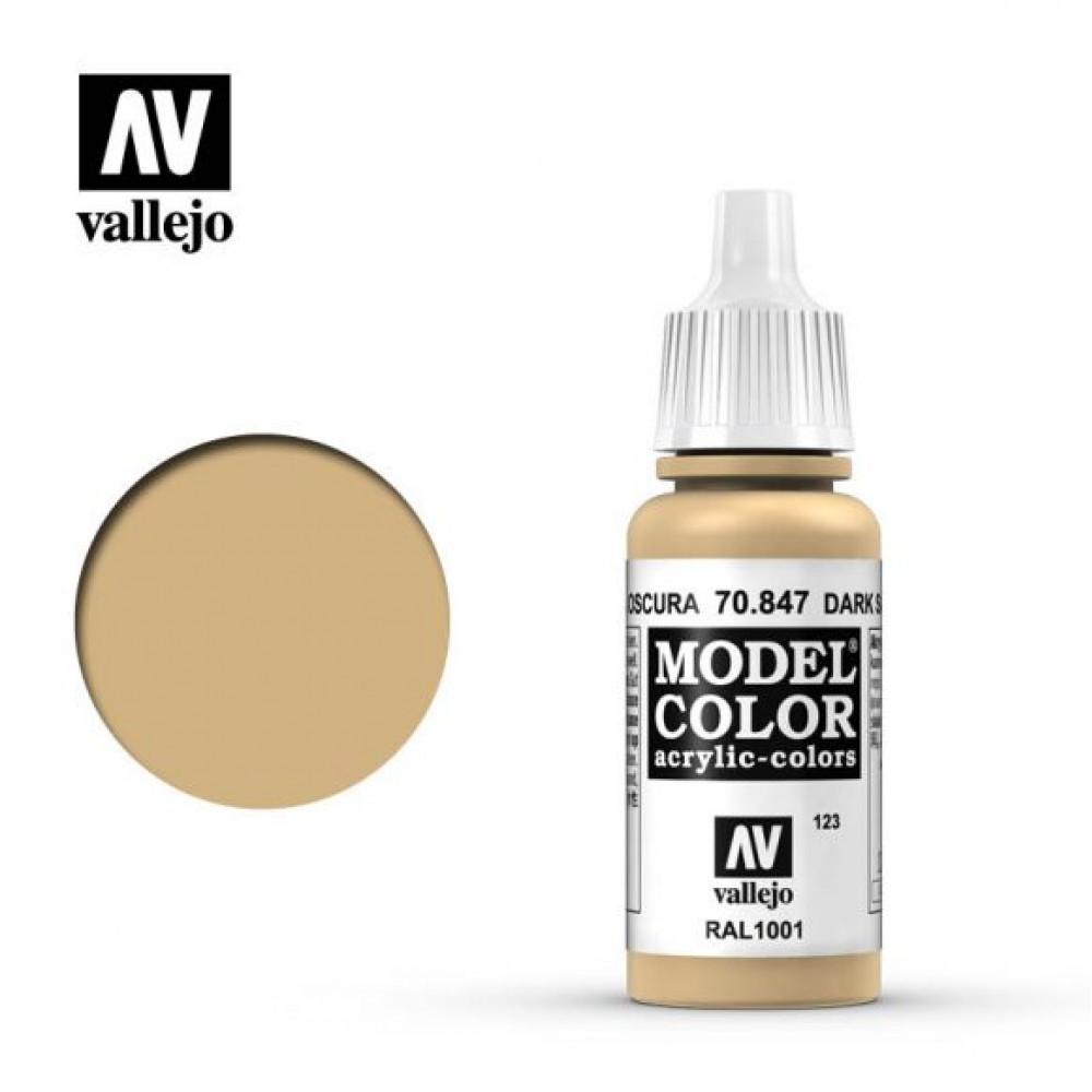 Dark Sand 70.847 Vallejo Model Color (17ml)