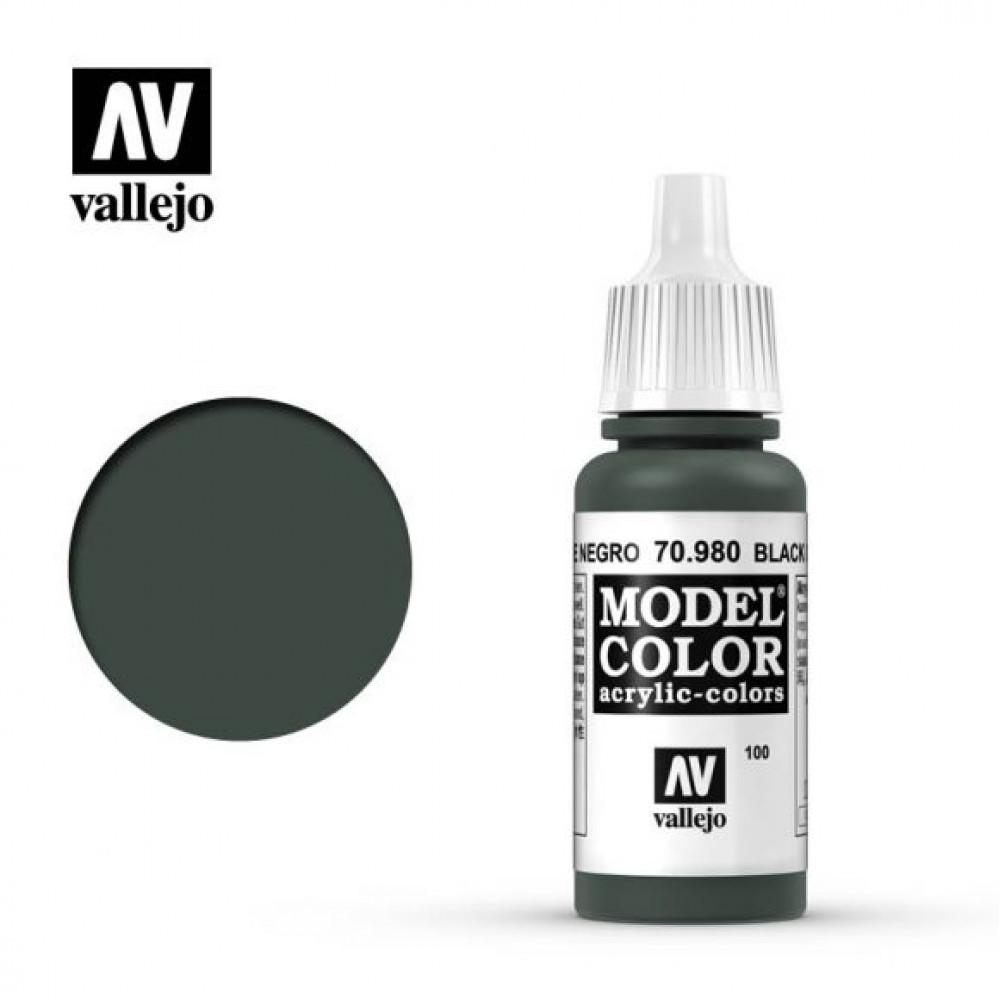 Black Green 70.980 Vallejo Model Color (17ml)