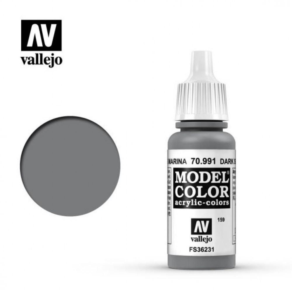 Dark Sea Grey 70.991 Vallejo Model Color (17ml)