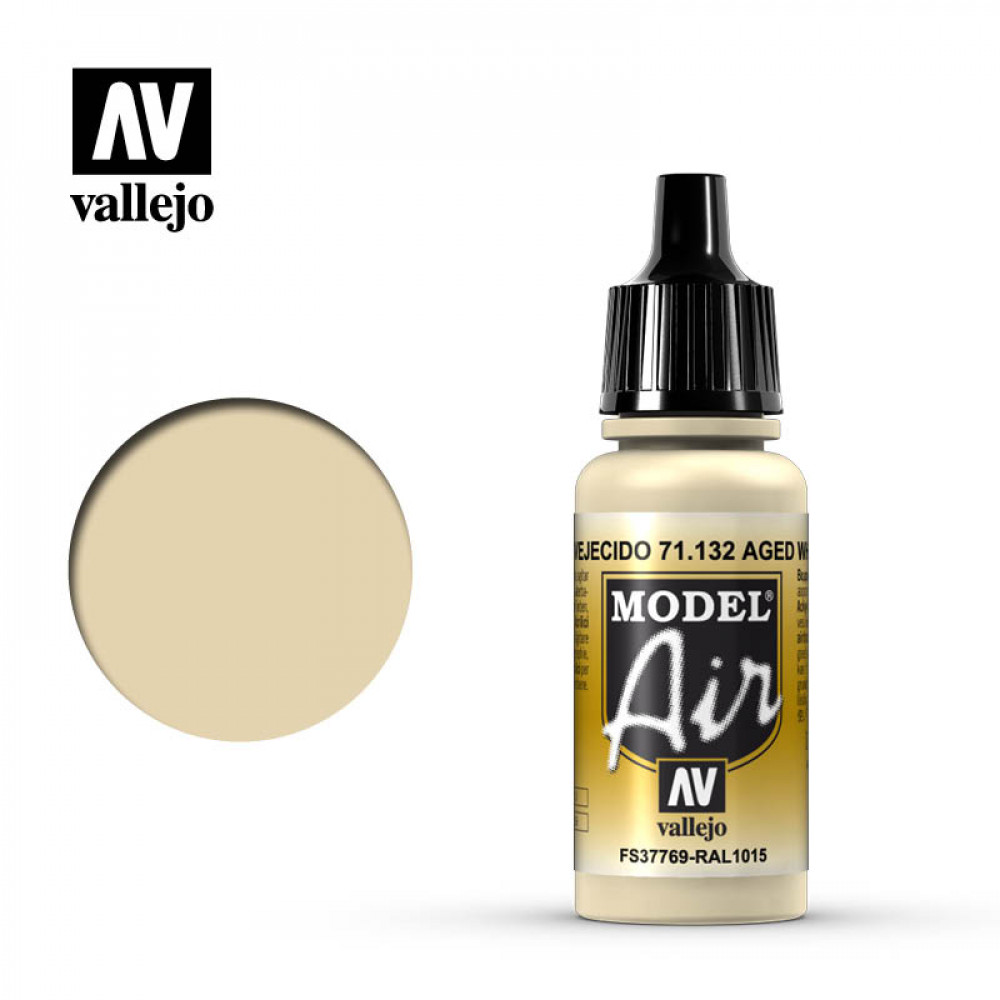 Aged White 71.132 Vallejo Model Air  (17ml)