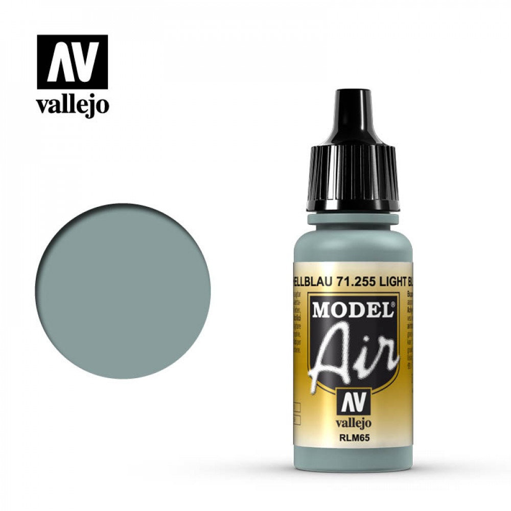 Light Blue RLM65  71.255 Vallejo Model Air  (17ml)