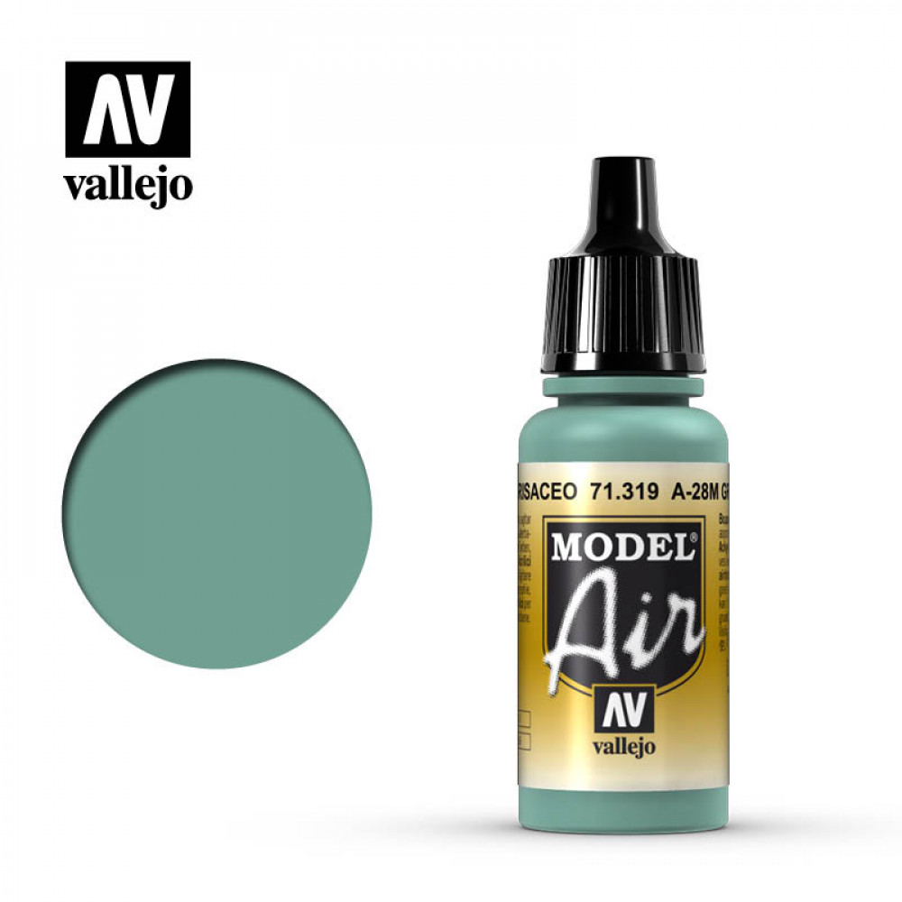 A-28M Greyish Blue 71.319 Vallejo Model Air  (17ml)