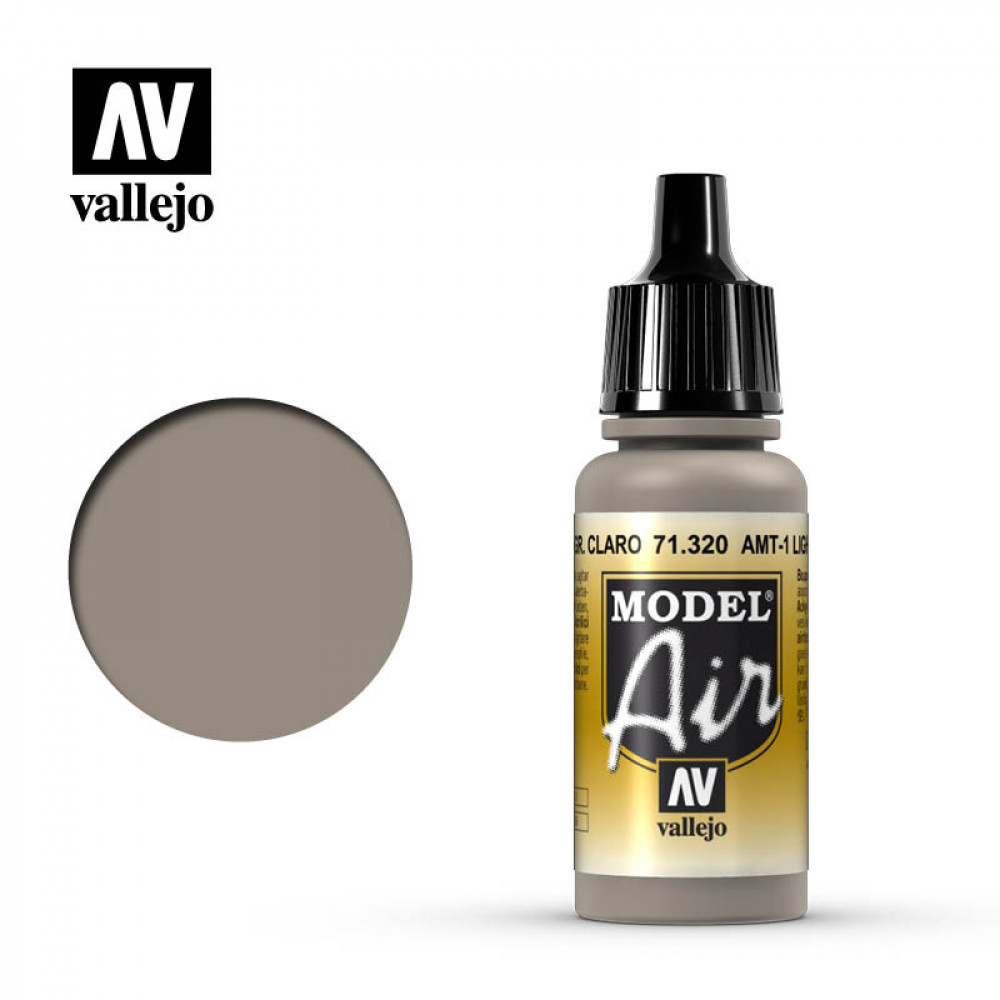 AMT-1 Light Grey Brown  71.320 Vallejo Model Air  (17ml)