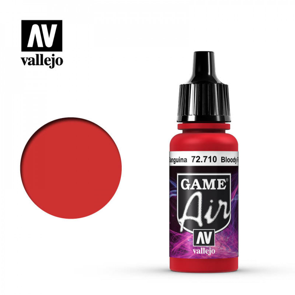Bloody Red 72.710 Vallejo Game Air (17ml)