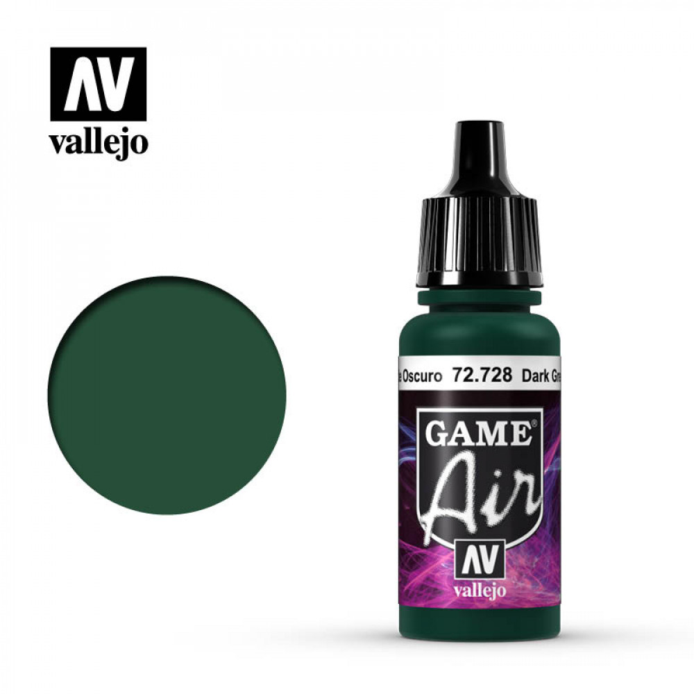 Dark Green 72.728 Vallejo Game Air (17ml)