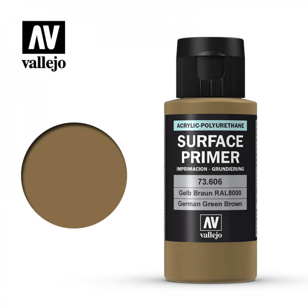 German Green Brown Surface Primer Acrylic-Polyurethane Vallejo 73606