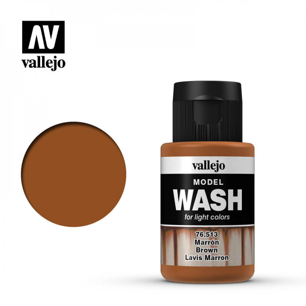 Model Wash Light Rust 35ml VALLEJO 76505