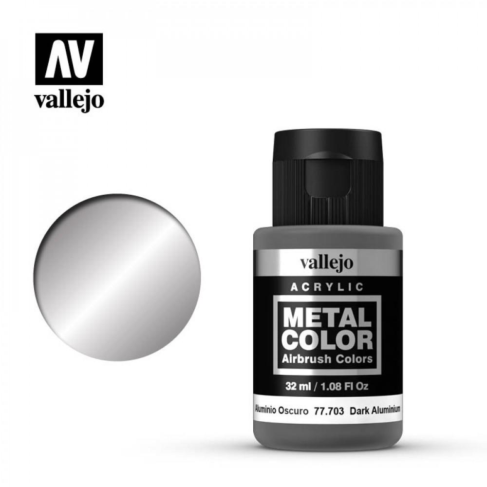Dark Aluminum 32 ml Vallejo 77703