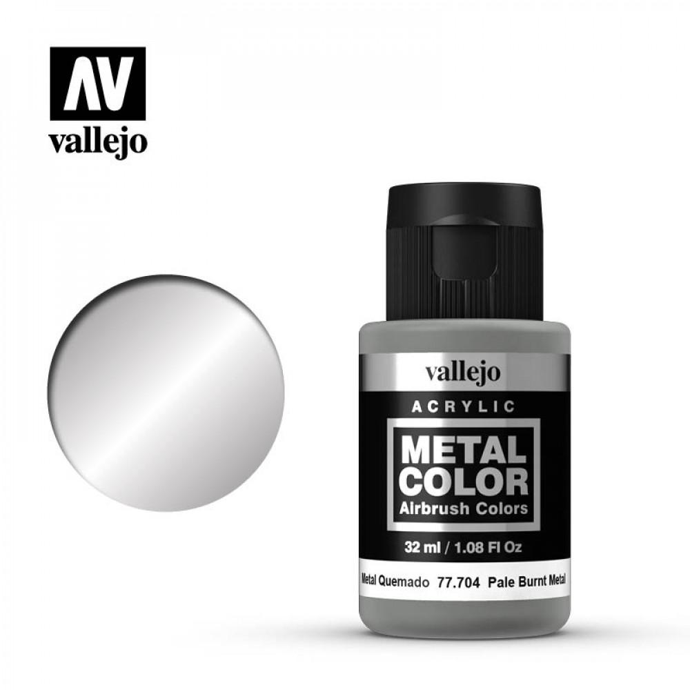 Pale Burnt Metal 32 ml Vallejo 77704