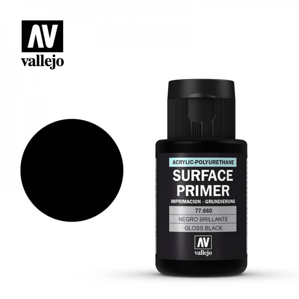 Gloss Black Primer 32 ml Vallejo 77660