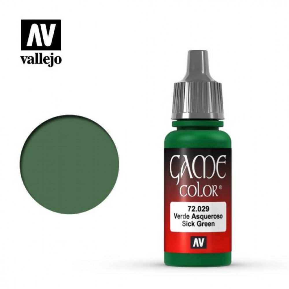 Sick Green 72.029 Vallejo Game Color (17ml)