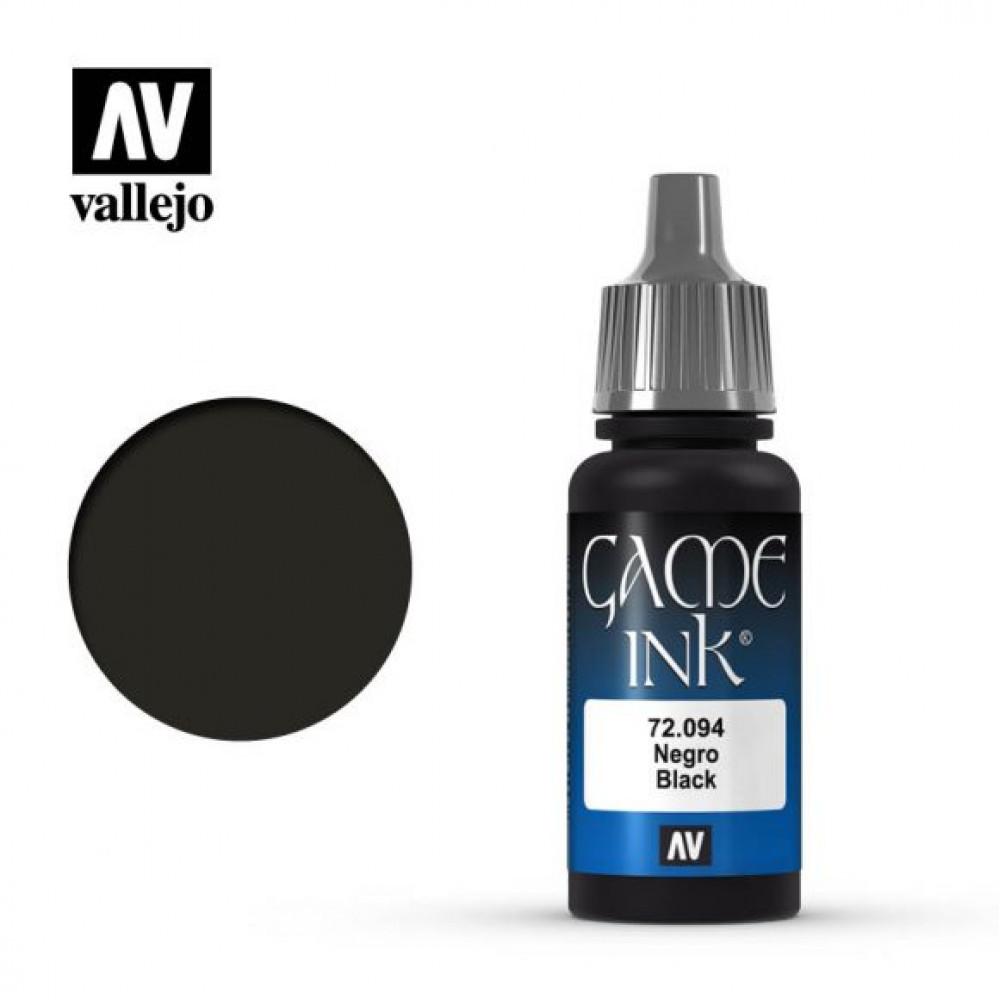 Black 72.094 Vallejo Game Color (17ml)