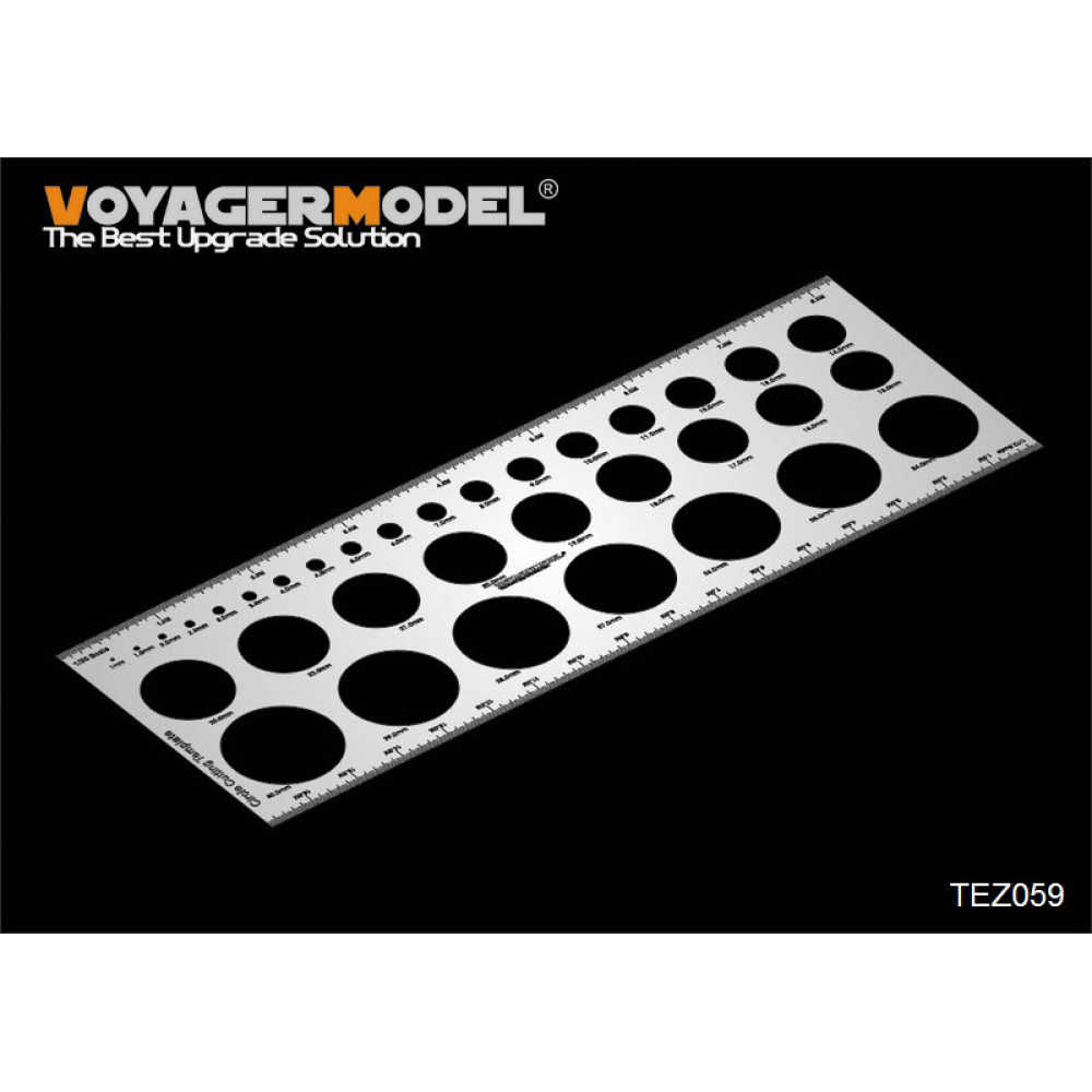 Circle Cutting Template  VoyagerModel TEZ059