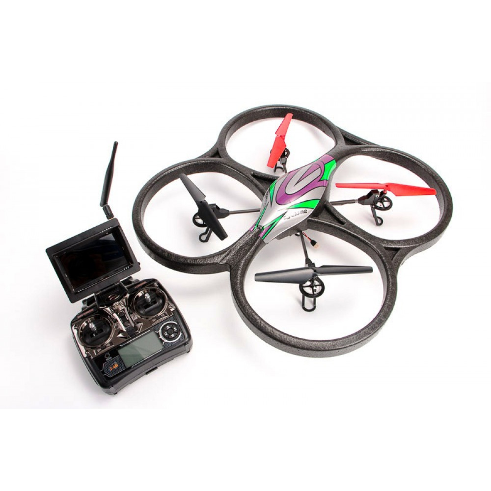 Quadrocopter large WL Toys V666 Cyclone with FPV system 5.8GHz