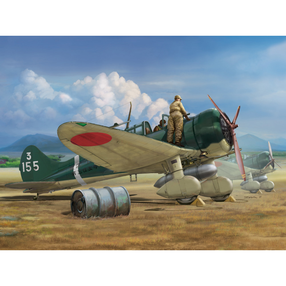"""IJN Type 96 carrier-based fighter II A5M2b """"Claude"""" (early) 1/48 Wingsy Kits D5-03"""