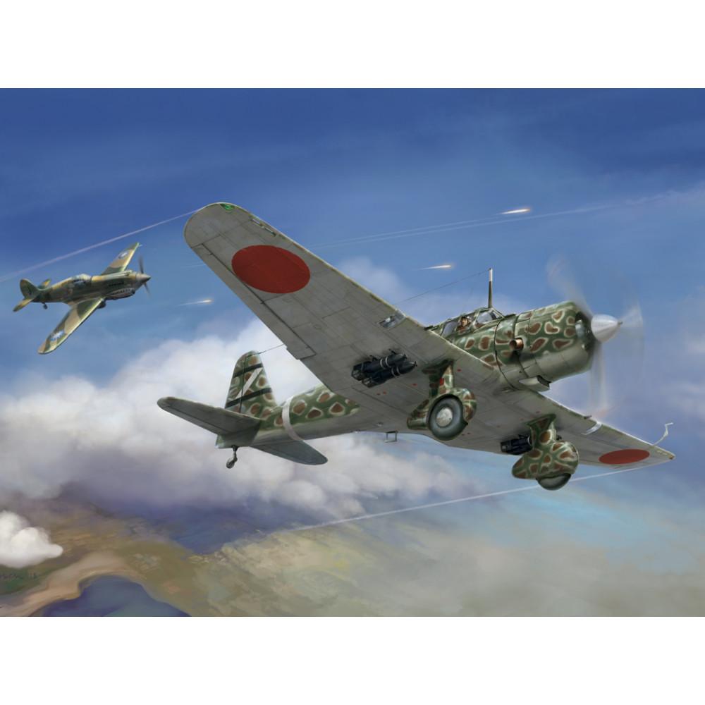 "IJA Type 99 army assault plane Ki-51 ""Sonia"" 1/48 Wingsy Kits D5-04"