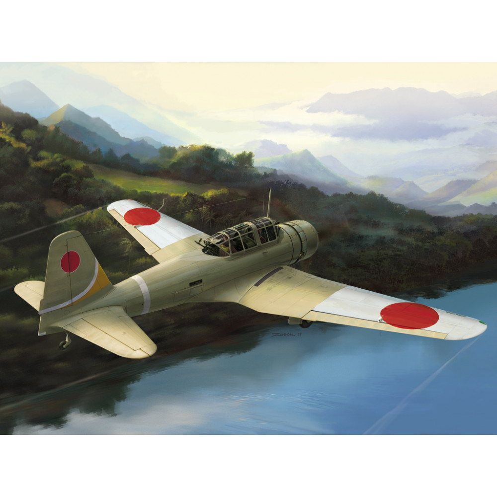 "IJA Type 99 assault/recon. plane Ki-51 ""Sonia"" 1/48 Wingsy Kits D5-05"